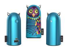 Devil? No, I am an owl! #emie #powerbank #externalbattery #doodle #devil #charger #phonecharger