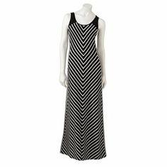 LC Lauren Conrad Striped Maxi Dress #Kohls
