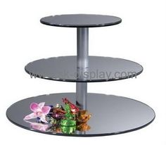 Acrylic manufacturers customized acrylic cake stands SOD-209