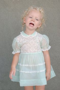 Children also wore pastel colors as well as details such as frills and sheer fabric.