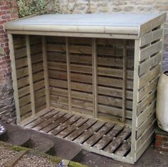 Log stores - red squirrel sheds projects log store, firewood storage, l