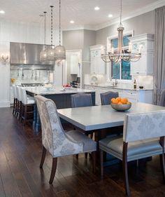 Oakland Township new construction - transitional - Kitchen - Detroit - Tutto Interiors