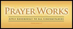 War Room: Prayer Works Plaque (Gold) | Apply generously to all circumstances. | Available at ChristianCinema.com