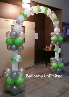 Balloon Arch Balloon Ideas, Balloon Arch, Balloon Decorations, Photos On Facebook, Homecoming Ideas, Helium Balloons, Altar, Graduation, Birthdays