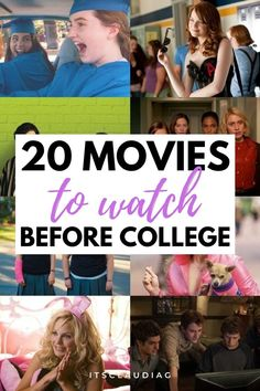 Me and my friends were looking for college movies to watch and we loved this! This girl shows you the best college movies ever. #collegemovies College Movies, College Roommate, College Fun, College Life, College Girls, College Food Hacks, College Essentials, Good Movies To Watch, College Organization