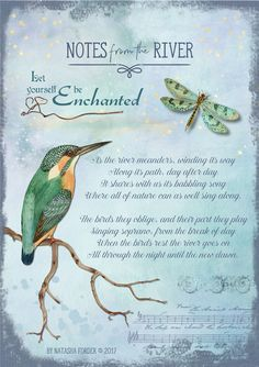 https://flic.kr/p/U5es3S   Notes from the River   Poem my own.  Created with the following beautiful kits by Lynne Anzelc Designs: The Magic of Nature The Magic of Nature Wordart Textured Grungy Overlays