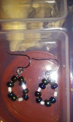 Handmade earrings i made