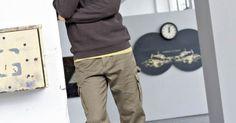 "Derweiche Sweater""Dirk Khaki Pants, Hoodies, Fashion, Sustainable Clothes, Hoodie, Gowns, Moda, Khakis, Sweatshirts"