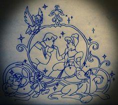 Disney Tattoo Design #5 by IcyRose13.deviantart.com on @deviantART