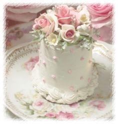 Shabby Chic Wedding Cupcakes Mini Cakes 68 Ideas For 2019 Gorgeous Cakes, Pretty Cakes, Cute Cakes, Amazing Cakes, Fancy Cakes, Mini Cakes, Cupcake Cakes, Mini Wedding Cakes, Wedding Cupcakes