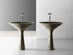 nach martini dry cocktail-gläser nachempfundenes Standwaschbecken