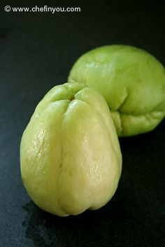 Chow Chow Curry Recipe   Chayote Squash Recipes