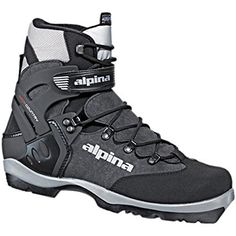 Alpina BC 1550 Backcountry Boot Black/Silver, 42.0