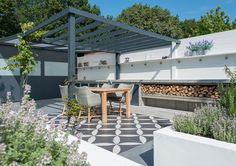 Binnen-Buiten tuin