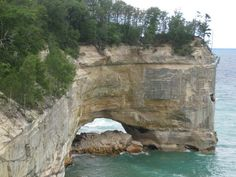 Pictured Rocks :)  Lovers Leap <3 Been there done that! ;)