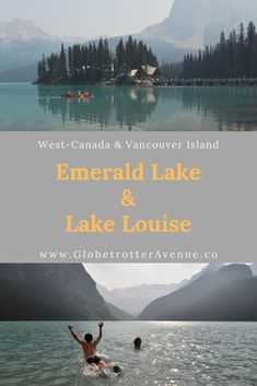 Banff via Natural Bridge Yoho en Emerald Lake - Globetrotter Avenue Banff Alberta, Emerald Lake, Natural Bridge, Banff National Park, Vancouver Island, Canada, Mountains, Nature, Travel