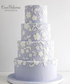 Featured Cake: Coco Paloma Desserts; www.cocopalomadesserts.com; Wedding cake idea.