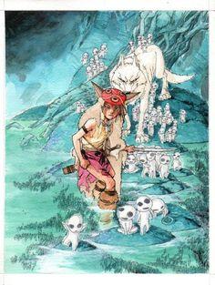 Studio Ghibli Art, Studio Ghibli Movies, The Cat Returns, Anime Nerd, Howls Moving Castle, Fan Art, Hayao Miyazaki, Manga, Comic Art