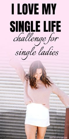 All the single ladies: It's time to enjoy being single. It's time to live your single life in the best possible way - have fun, go on an adventure, be fine with being alone. Who said you need a man by your side to be happy? This is the best 30-day challenge for single women that promises self-love, exploring your inner and outer world and having lots of fun. Are you in?/ Single life tips/ How to enjoy being single/ Challenge for single women/ #SingleLife #SingleWoman