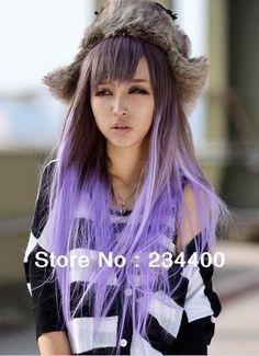 37 Trendy Hair Color Pastel Tips Purple Ombre Hair Tips Dyed Purple, Hair Dye Tips, Purple Tips, Colored Hair Tips, Lilac Hair, Hair Color Purple, Ombre Hair, Lavender Hair, Purple Ombre