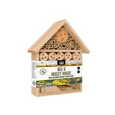 Find Mr Fothergill's Large Bee And Insect House at Bunnings Warehouse. Visit your local store for the widest range of garden products.