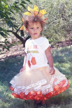 Childhood Cancer Leukemia Awareness Tutu outfit. Portion of proceeds go to American Childhood Cancer Organization (ACCO)