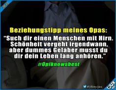 Opi weiß bescheid :) #Opaistderbeste #lustigeBilder #Sprüche #Humor