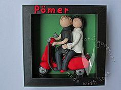 Türschild als individuelles Hochzeitsgeschenk 3d, Frame, Baby, Home Decor, Weddings, Wedding, Gifts, Picture Frame, Decoration Home