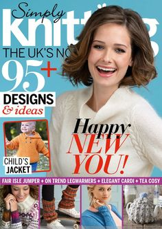 Simply Knitting Issue 128 2015