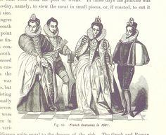 Französische Mode, 1561