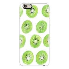 iPhone 6 Plus/6/5/5s/5c Case - KIWIS | WT. | ($40) ❤ liked on Polyvore featuring accessories, tech accessories, iphone case, slim iphone case, iphone cover case and apple iphone cases