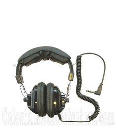 Treasure Wise  Stereo Headphones  w/ 90 Degree Jack  Dual Volume Control