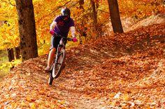 Mountain biking in the fall http://www.sma-summers.com/camp-activites/land-adventure-activities/mountain-biking/