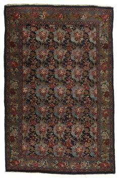 VAN-HAM Kunstauktionen Bijar.  2nd quarter of 20th C. 205 x 133cm.