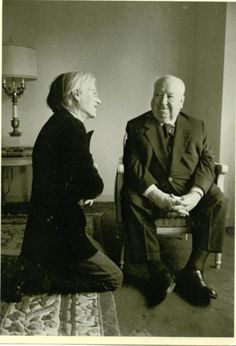 Warhol and Hitchcock<3<3