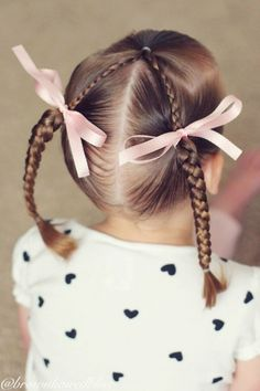 Beautiful children's hairstyles - everyday and vacation choices - Page 56 of 59 - Inspiration Diary Easy Toddler Hairstyles, Childrens Hairstyles, Lil Girl Hairstyles, Princess Hairstyles, Trendy Hairstyles, Teenage Hairstyles, Hairstyles Haircuts, Plait Hairstyles, Female Hairstyles