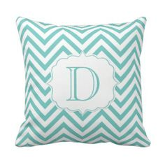 Teal and White Chevron Pattern Monogram Throw Pillows we are given they also recommend where is the best to buyShoppingHere a great deal. Teal Throws, Monogram Pillows, Chevron Throw Pillows, Decorative Throw Pillows, Teal Green, Purple, Pink, Teal Chevron, Shopping Sites