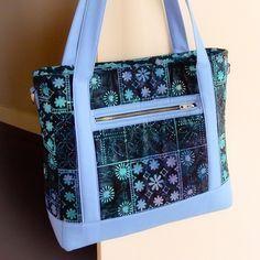 My Tudor bag, pattern by Sewsweetness