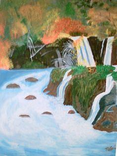 Many Waterfalls (Acrylics)