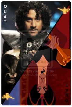 OUAT Card Jafar by jeorje90.deviantart.com on @deviantART