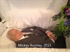 Famous People with Open Casket Funerals Video, Vol. 1 - YouTube