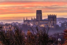 sunrise over Durham Cathedral by Teresa Mazur on 500px