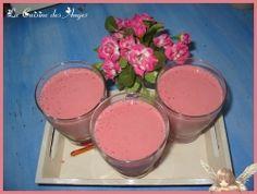 smoothie fraise  banane coco