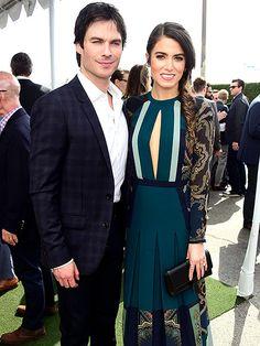 Indie Spirit Awards | LOVELY LOVERS | A gorgeous Nikki Reed and dashing husband Ian Somerhalder