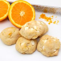 Skip to the Lue: Sunday Sweets week 3: Orange Creamsicle Cookies.
