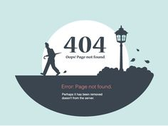 Page: Error 404 designed by Leonid Arestov. the global community for designers and creative professionals. Next Web, Error Page, Web Design Projects, 404 Page, Web Inspiration, Page Design, Custom Design, How To Remove, Banner