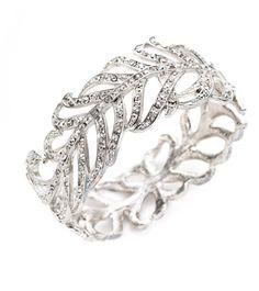 Vintage Plume Bracelet via Obaz Jewelry Box, Jewelery, Vintage Jewelry, Jewelry Accessories, Fine Jewelry, Vintage Bracelet, Bijou Box, Vogue, Bangles