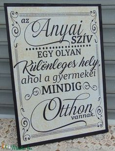 Some Good Quotes, Quotes To Live By, Wood Crafts, Diy And Crafts, Mother Art, Diy Presents, Holidays And Events, Decoupage, Geek Stuff