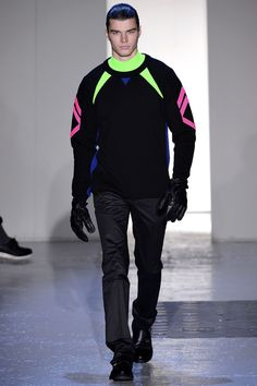 Mugler Fall 2013 Menswear Collection Slideshow on Style.com