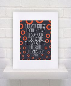 Hey, I found this really awesome Etsy listing at https://www.etsy.com/listing/212741262/phish-lyrics-joy-11x14-poster-print